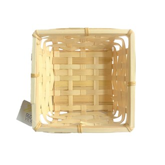 Bamboo Square Basket