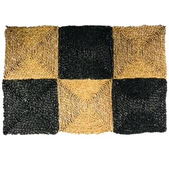 3 Fold Mat (Natural & Black)
