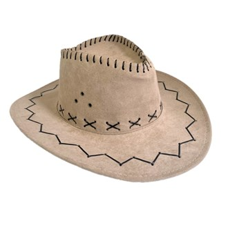 Cowboy Hat Suede Look